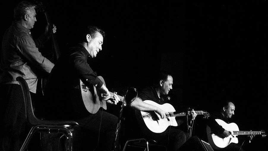 gypsy jazz guitarist Rosenberg Trio